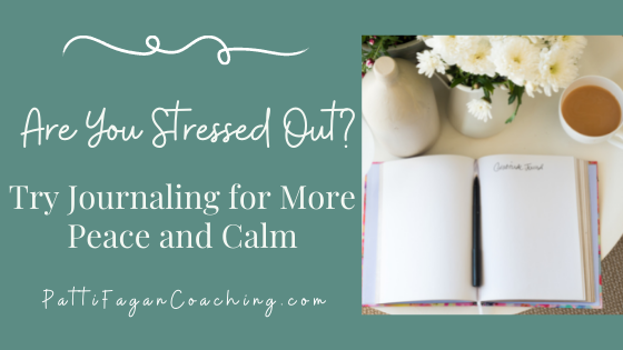 Journaling for peace and calm